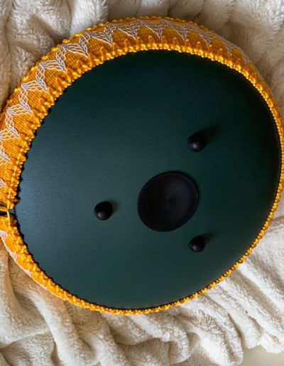stone green 14 inch 15 tones steel tongue drum