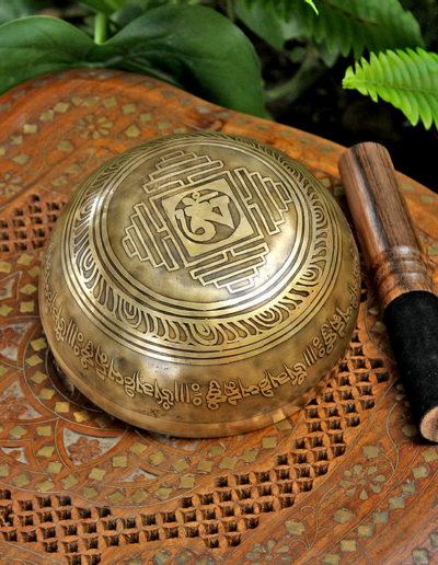 6 inch himalayan singing bowl